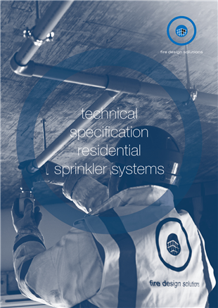 the new residential sprinkler systems brochure from fds is a handy resource for contractors specifiers and architects