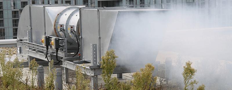 smoke ventilation system