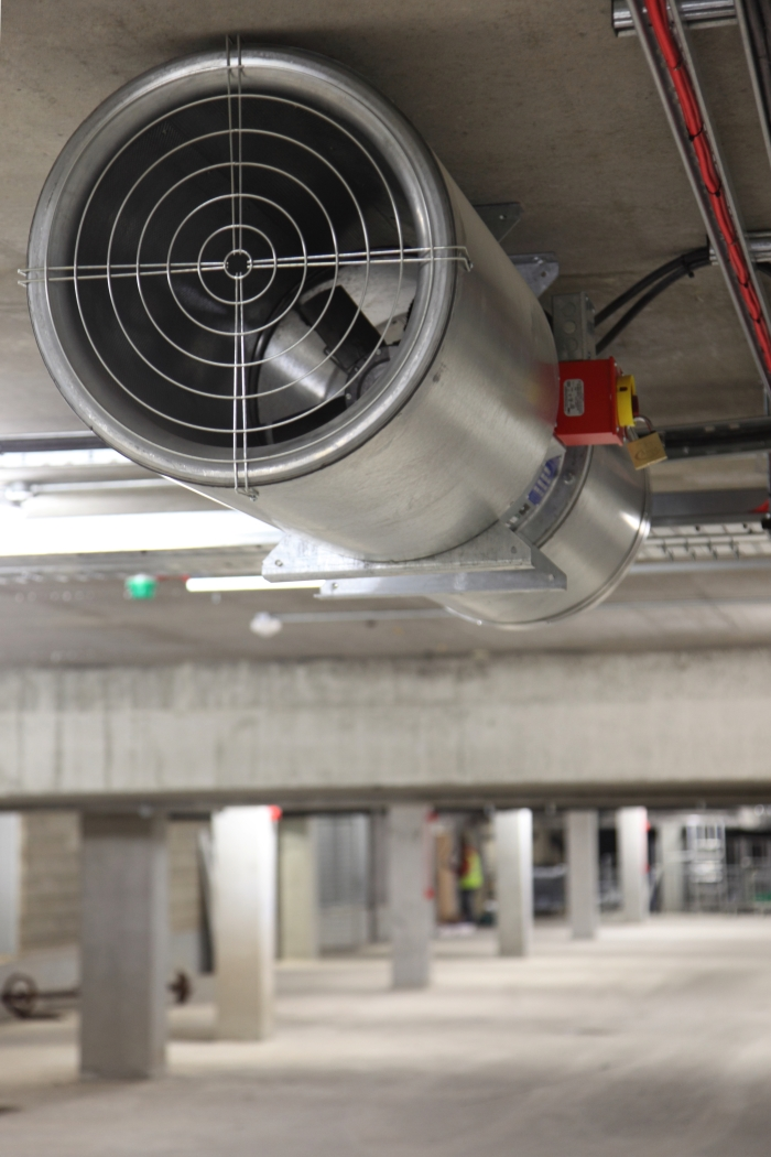 Car Park Natural Ventilation