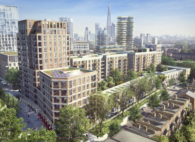 Elephant and castle redevelopment