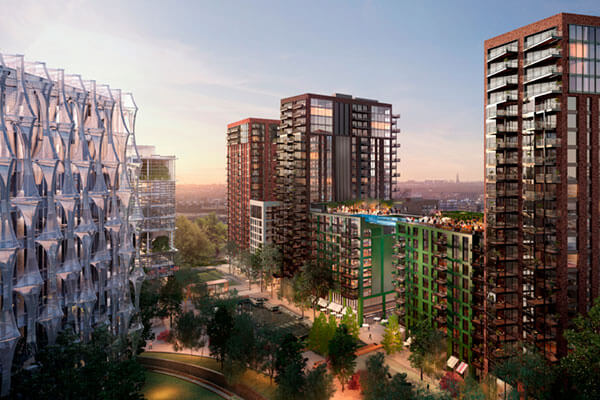 Smoke Ventilation Contractor, FDS appointed to Embassy Gardens