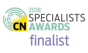 Fire Design Solutions is shortlisted for the Construction News Specialist Awards 2018