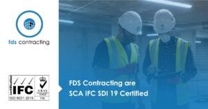 SCA IFC SDI 19 Certified
